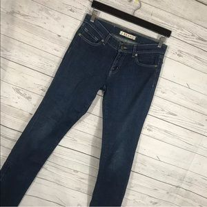 J Brand Skinny Jeans The Deal Zipper Ankle 28